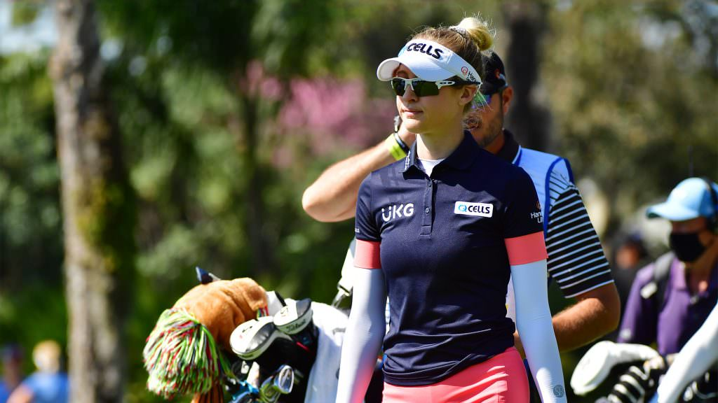 What's in Nelly Korda's bag?