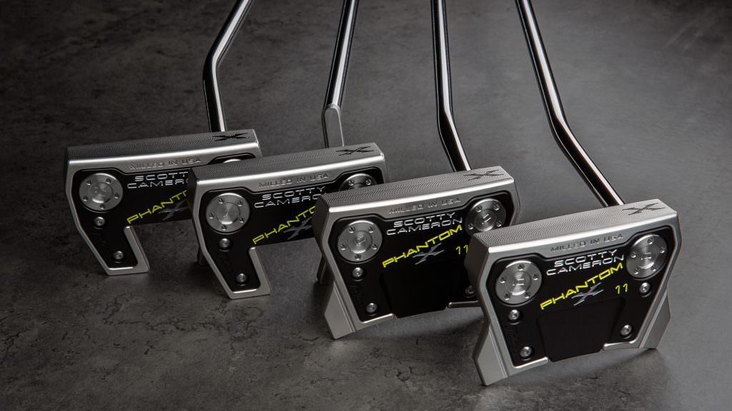Scotty Cameron tap into the minds of the world's best players to upgrade their Phantom putter series