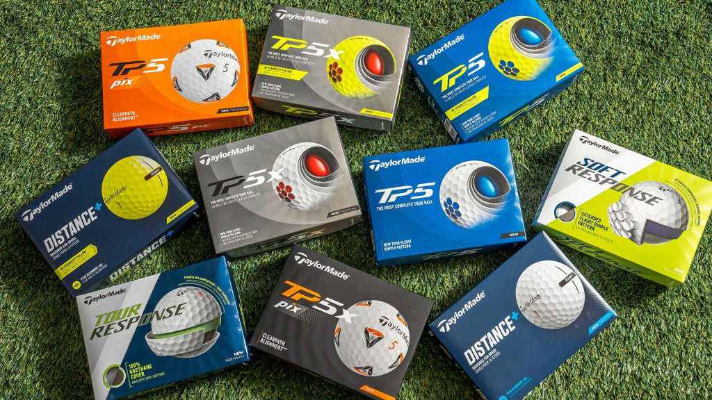 Maximum distance or more spin? There's something for everyone in the new TaylorMade TP5 range