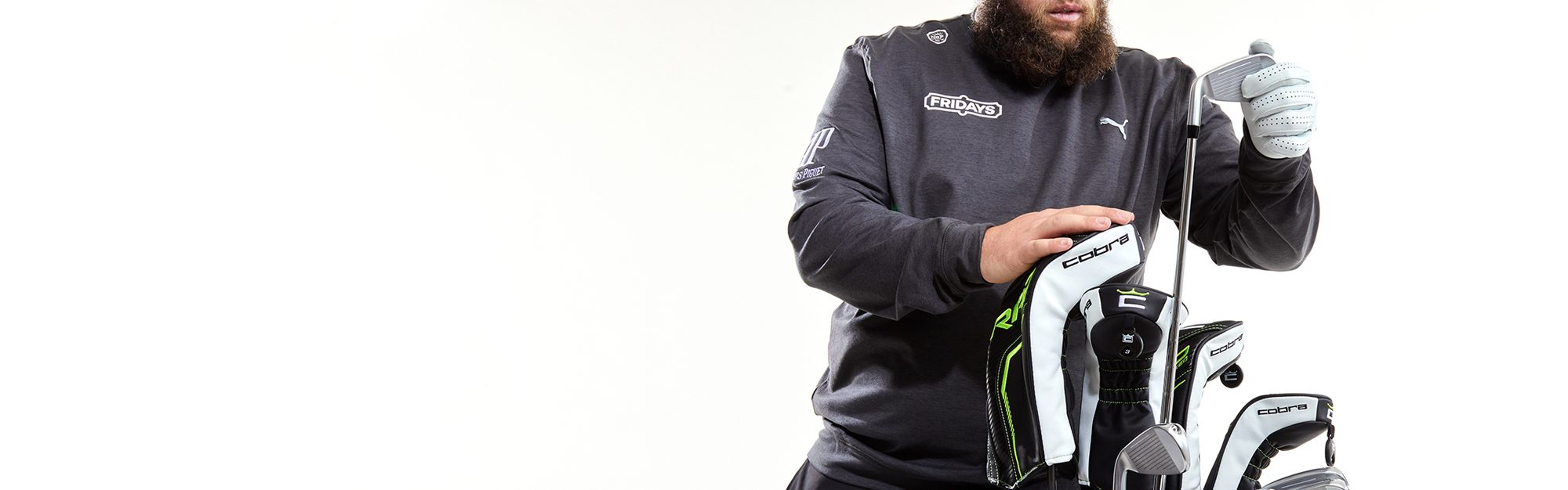 What's in Andrew 'Beef' Johnston's bag?