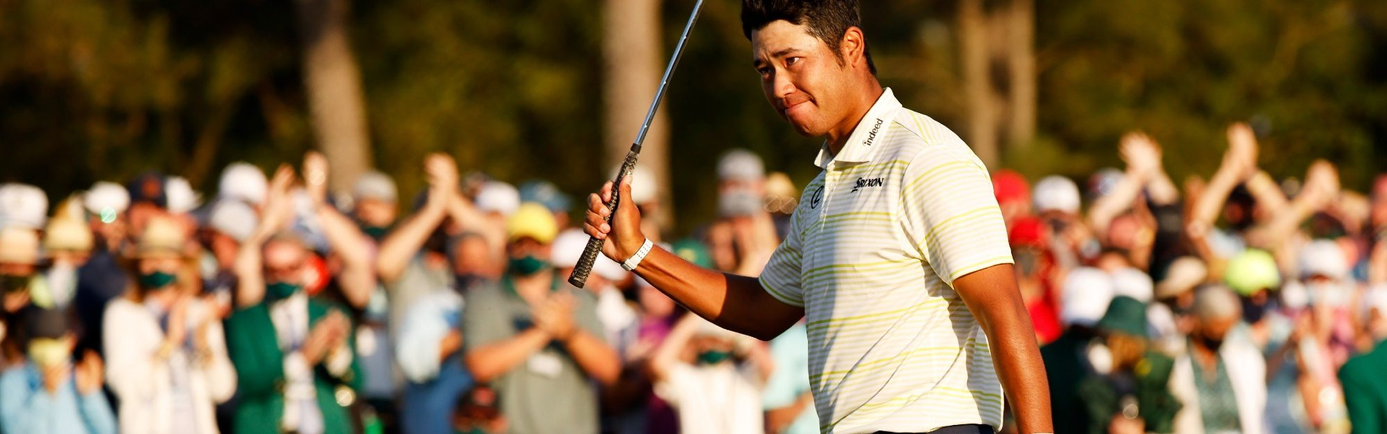 History is made! Matsuyama clings on for Masters glory on dramatic final day at Augusta