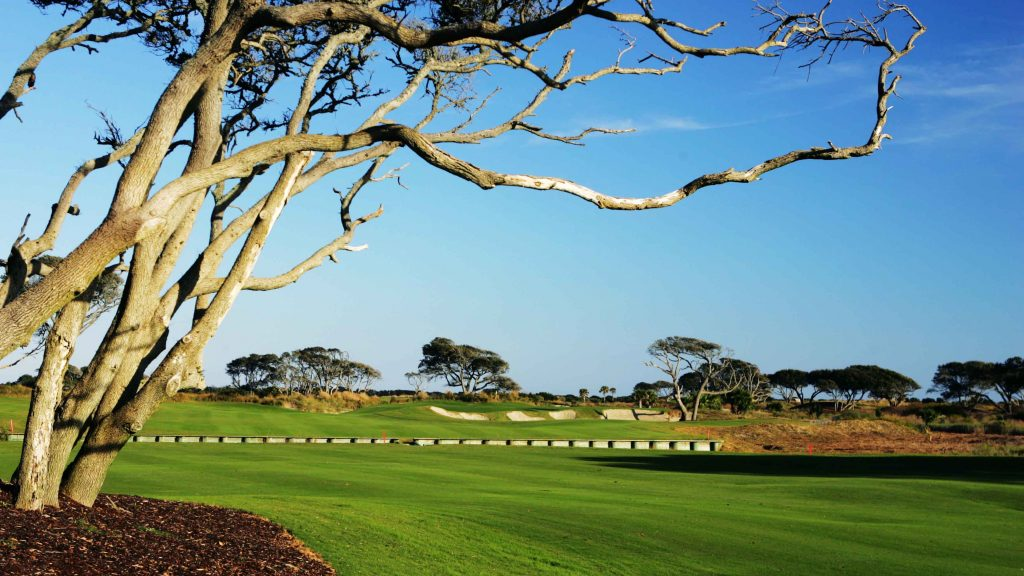'You're building a course next to the ocean but not letting the golfers see it!'
