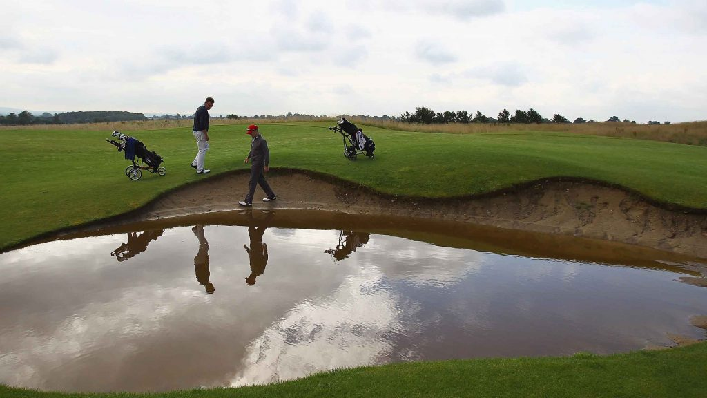 Rules of Golf explained: This bunker is full of water – can I have a free drop?