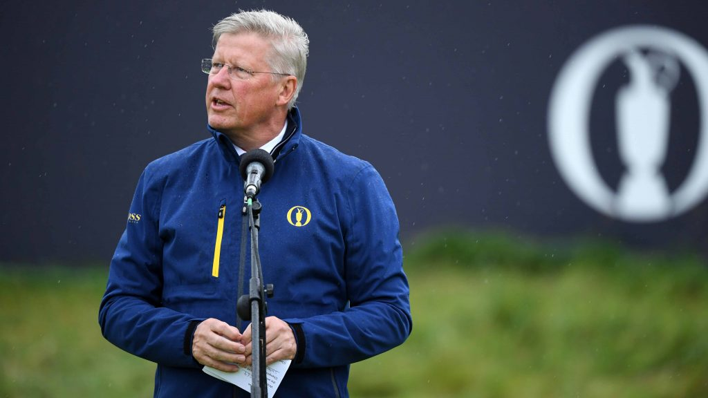 R&A chief says independent golfers are 'critical' to the game