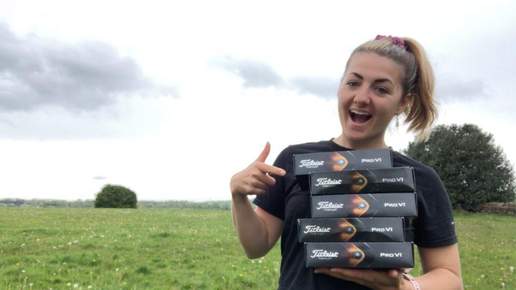 WIN: A year's supply of Titleist golf balls worth £300!