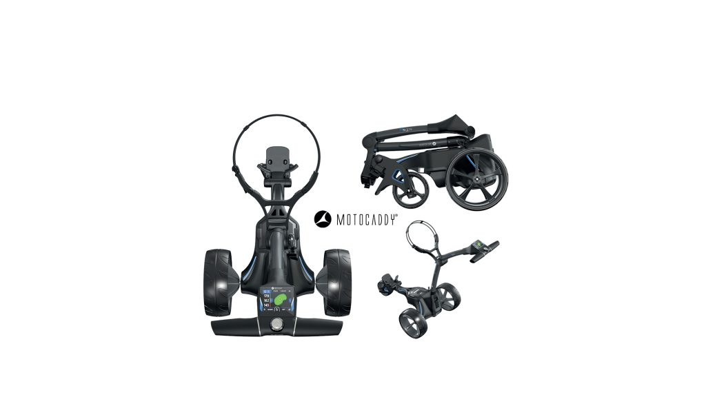 WIN: The new M5 GPS electric trolley from Motocaddy