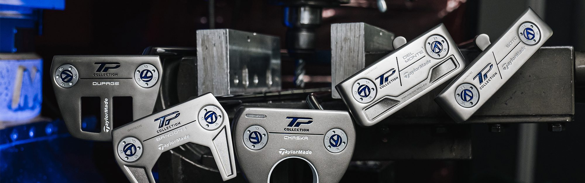 A classic look with a twist: TaylorMade launch new TP putters for 2021