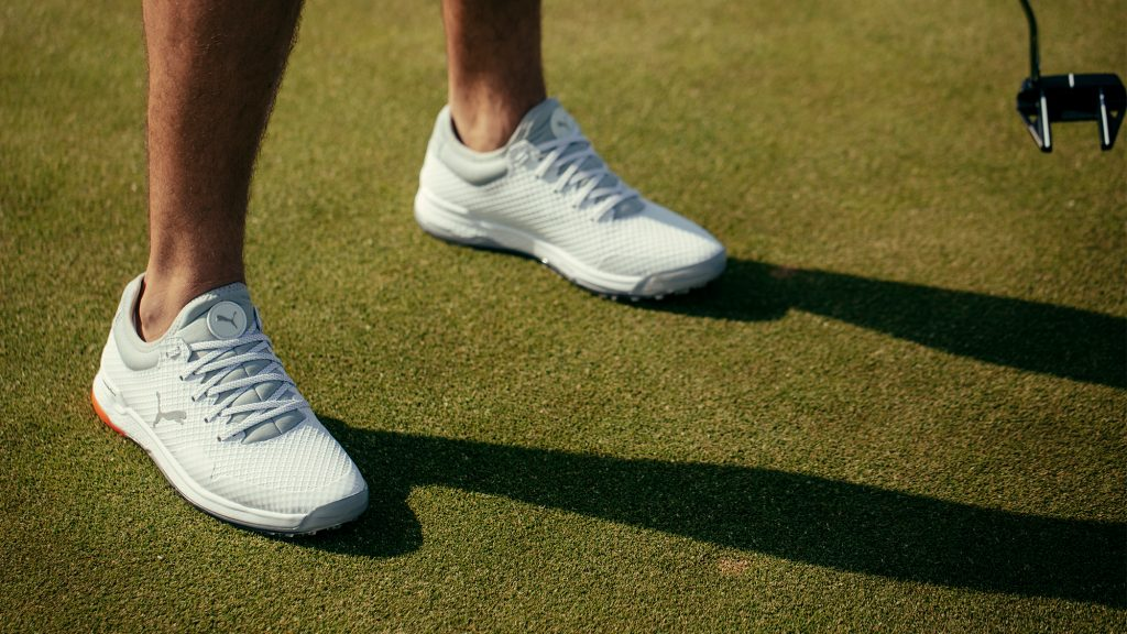 Golf shoes that will leave your feet purring: Puma take their spikeless game to the next level with Alphacat