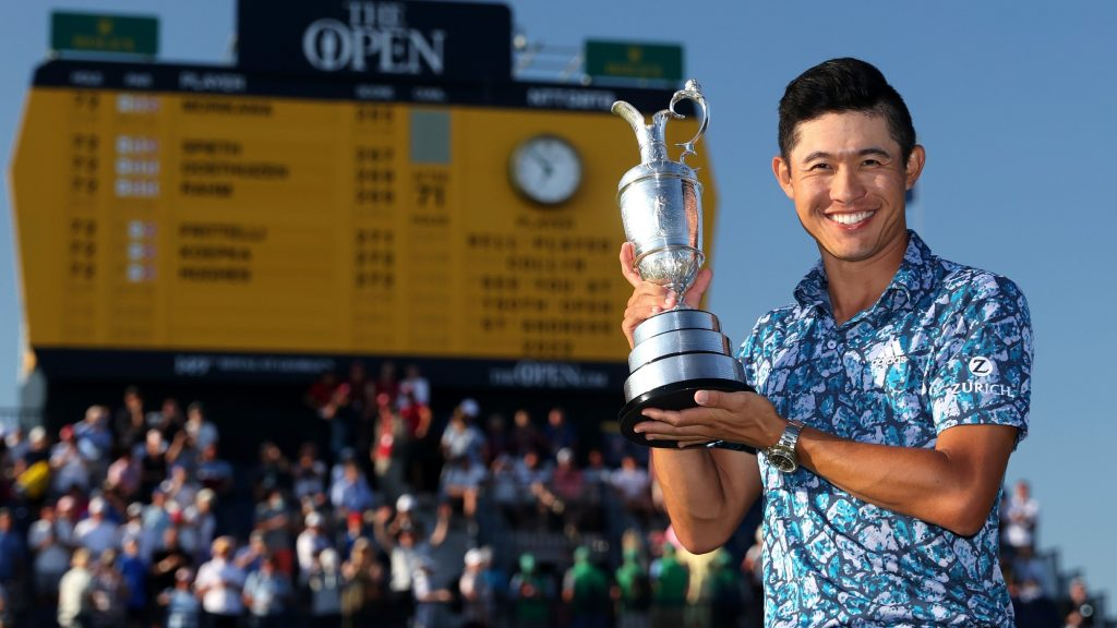 Morikawa rips up golf's history books to be crowned Champion Golfer of the Year
