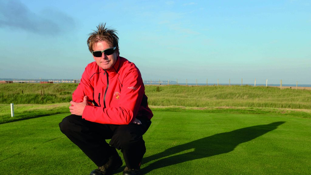They call him 'Robert Smith of the links' – and it's his job to get Royal St George's ready for the Open