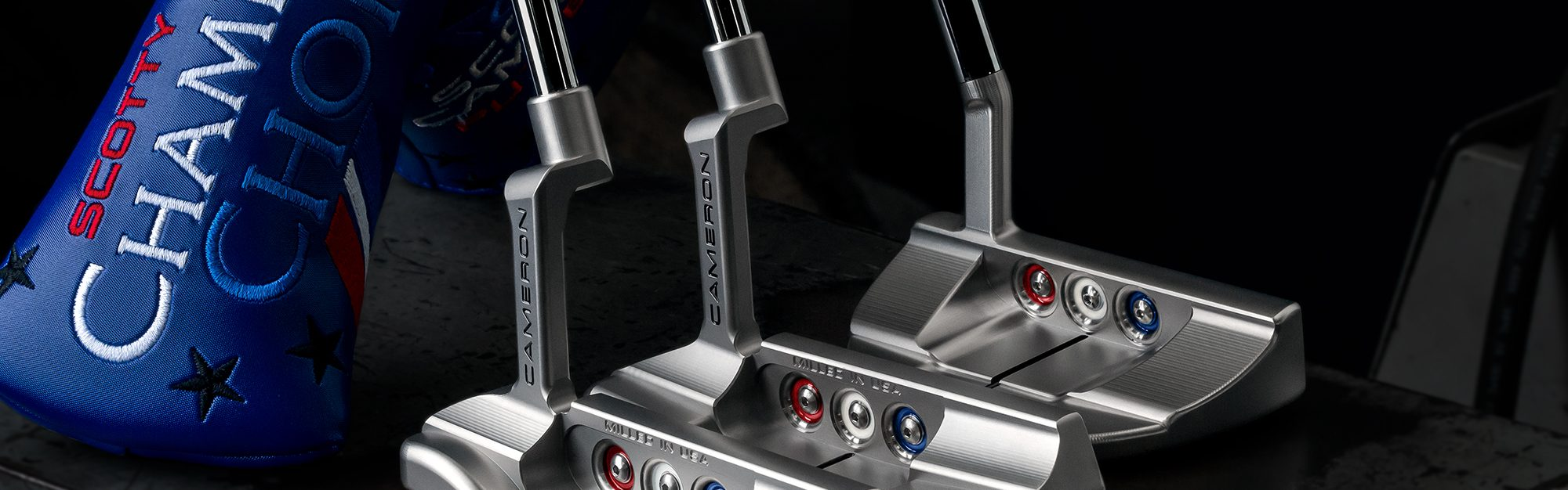 Say hello to Scotty Cameron's Champions Choice putters – a classic look with a modern twist