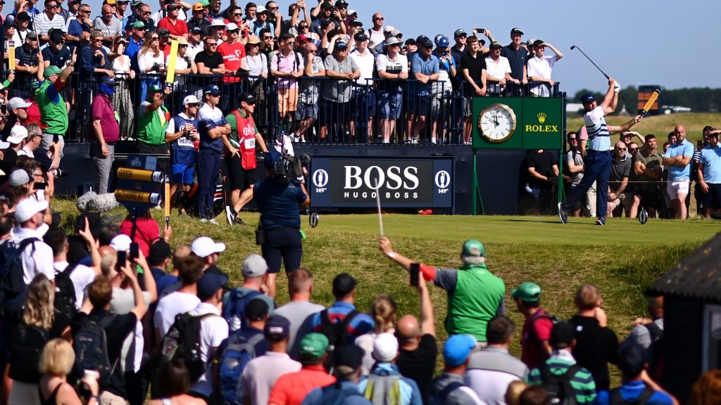 Brooks vs Bryson? The Open crowds have made it very clear whose side they're on