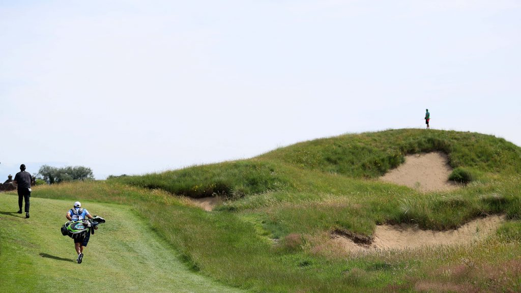 It's the biggest bunker in championship golf – and it's waiting to wreck someone's Open dream