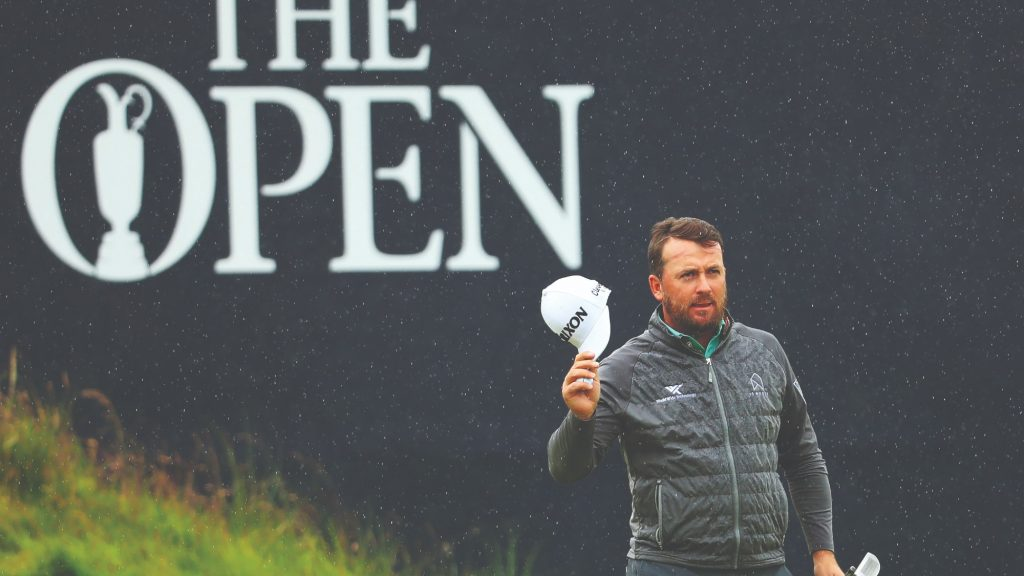 'I'd love the Open to be that little exclamation mark on my career'