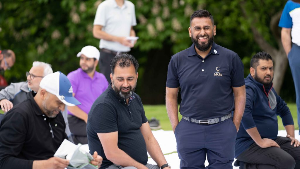 'The golf course doesn't discriminate': Meet the man looking to change the face of the sport