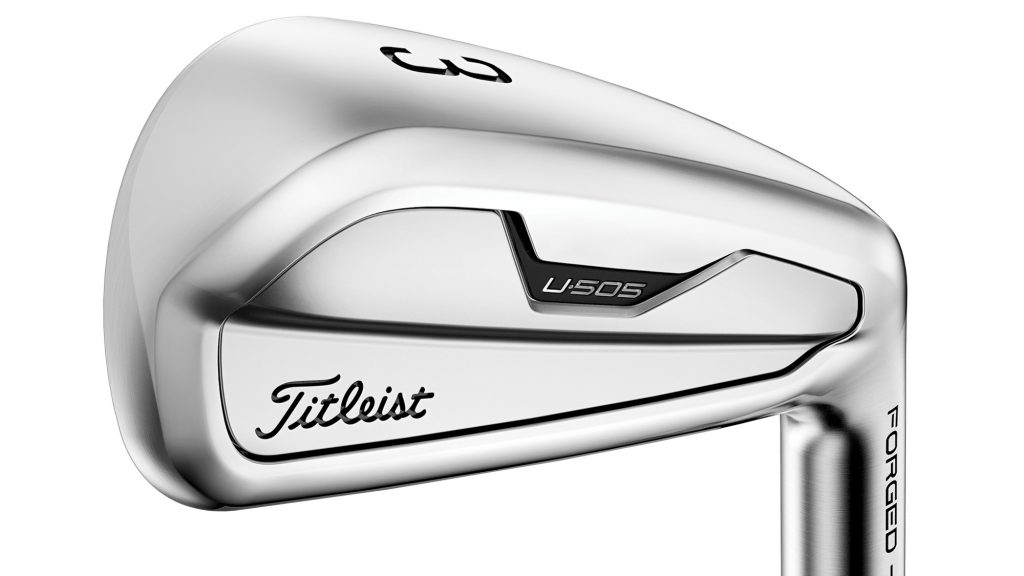 Titleist U-Series irons get a 2021 makeover – so what's new?