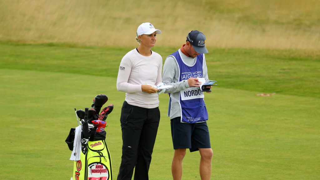What's in Anna Nordqvist's winning bag?