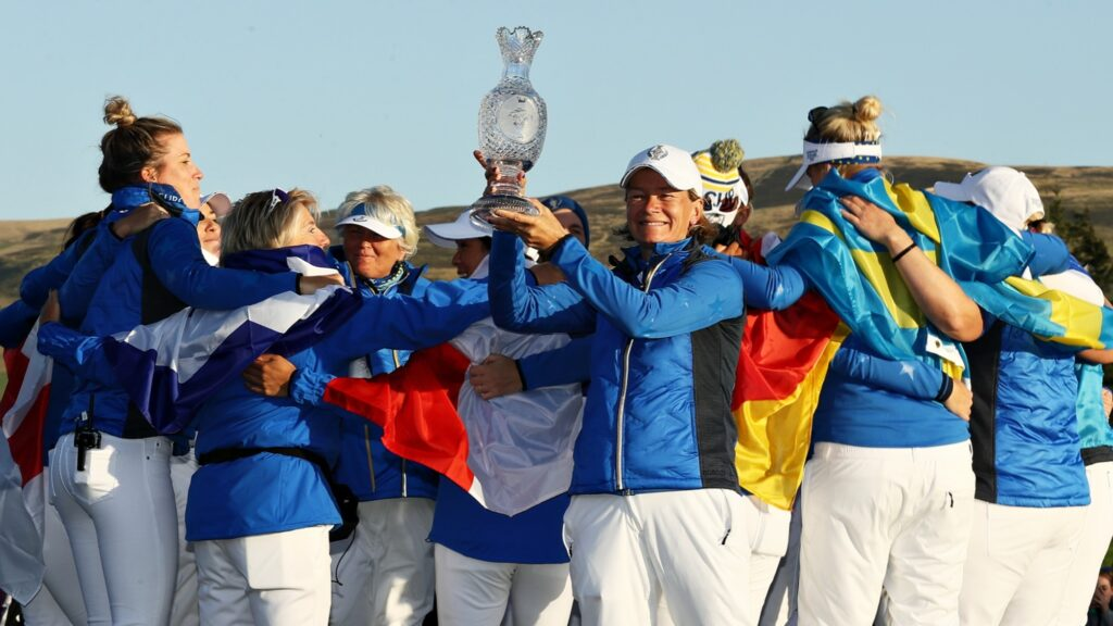 'I'm emotional on the inside!': Catriona Matthew on her rollercoaster Solheim Cup career