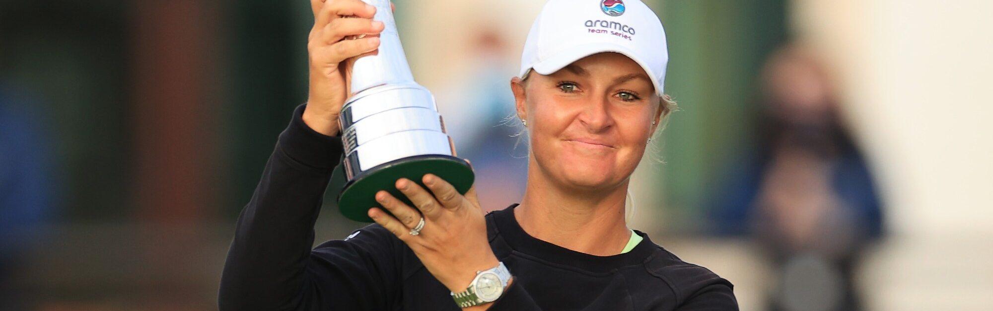 The Slam: Nordqvist hangs on in brutal Women's Open finish, and Finau's done it!