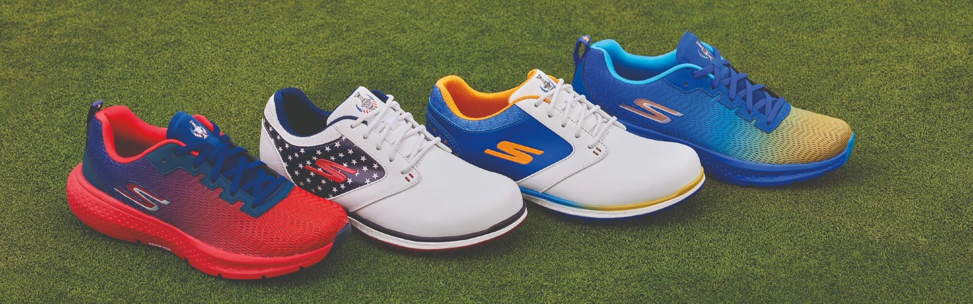 WIN! A pair of limited-edition Skechers golf shoes – as worn by the European Solheim Cup team