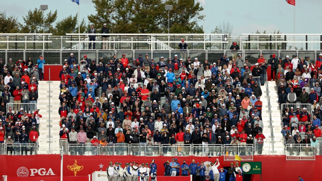 Ryder Cup tee times and pairings