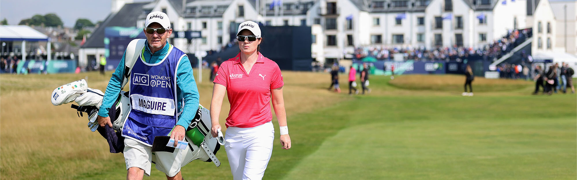 What's in Leona Maguire's bag?