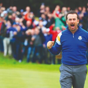 'The Ryder Cup is the back nine at a major multiplied by 20'