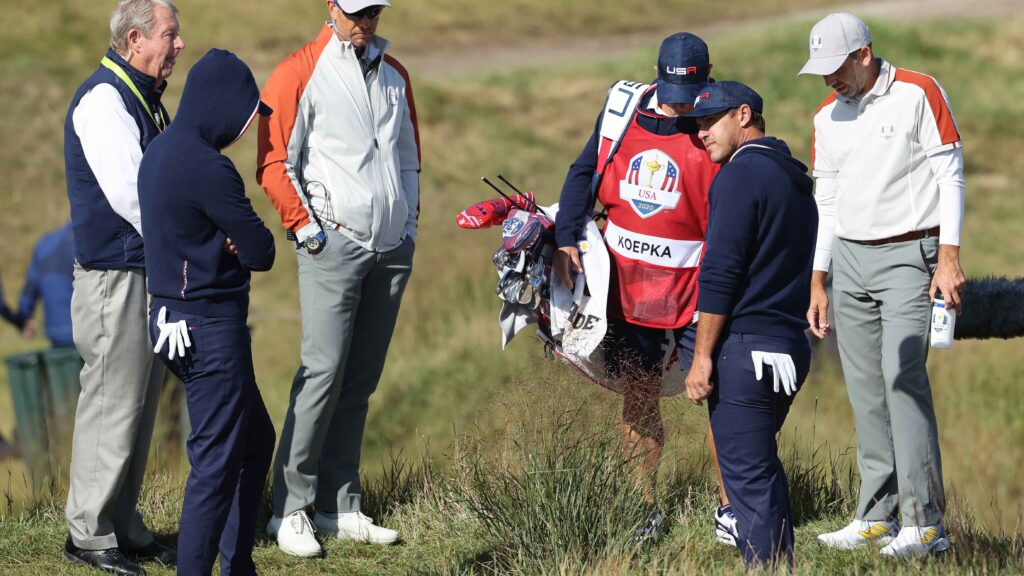 Foul-mouthed Koepka fumes at rules officials - here's why they made the call