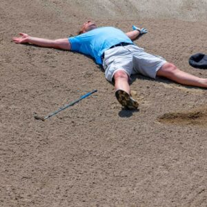 Rules of Golf explained: I've fluffed a bunker shot and hit the sand in anger – am I in trouble?
